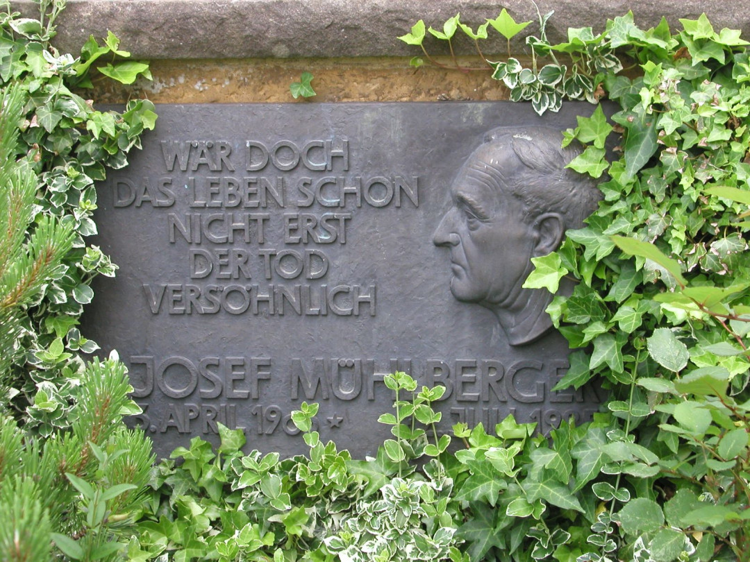 Gedenktafel für Josef Mühlberger in Bärenbach