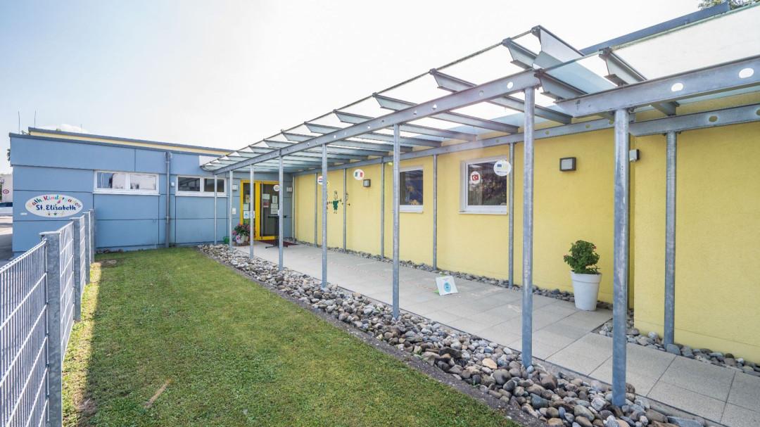 Eingangsbereich des Kindergarten Sankt Elisabeth