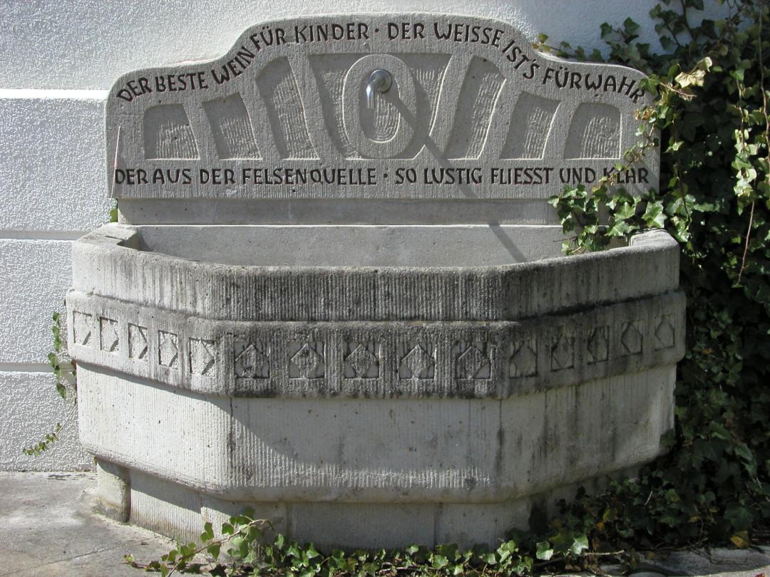 Trinkbrunnen am Rathaus