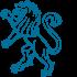 Bild blauer Löwe